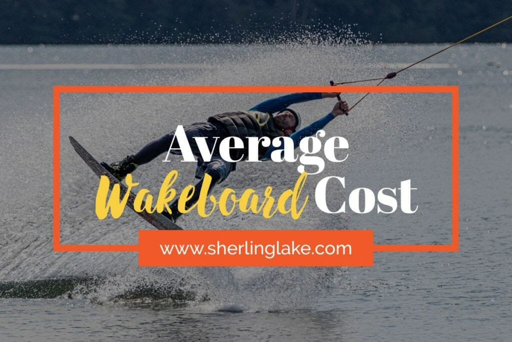 Average Wakeboard Cost Cover