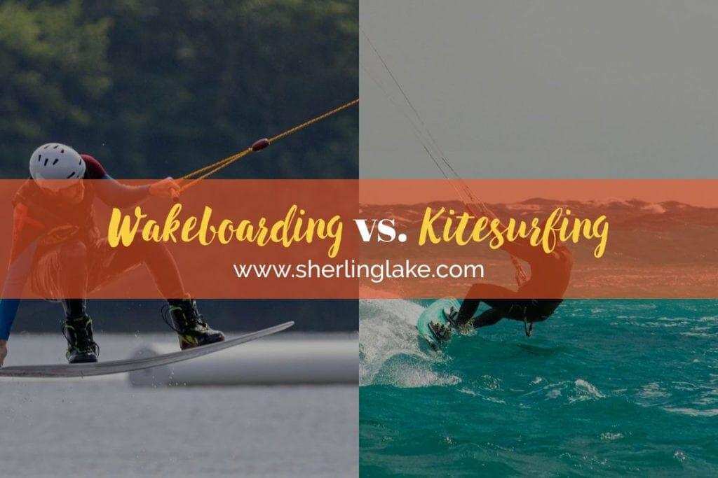 Wakeboarding Vs Kitesurfing Cover