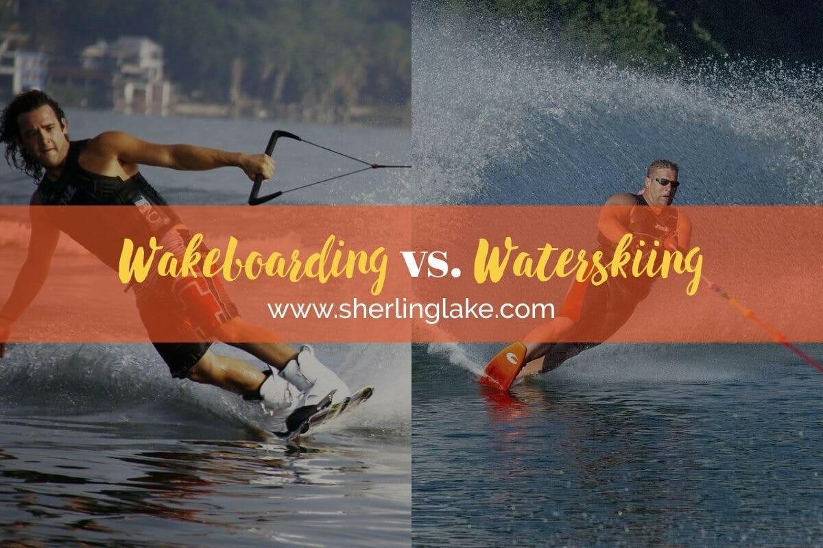 Wakeboarding Vs Waterskiing Cover