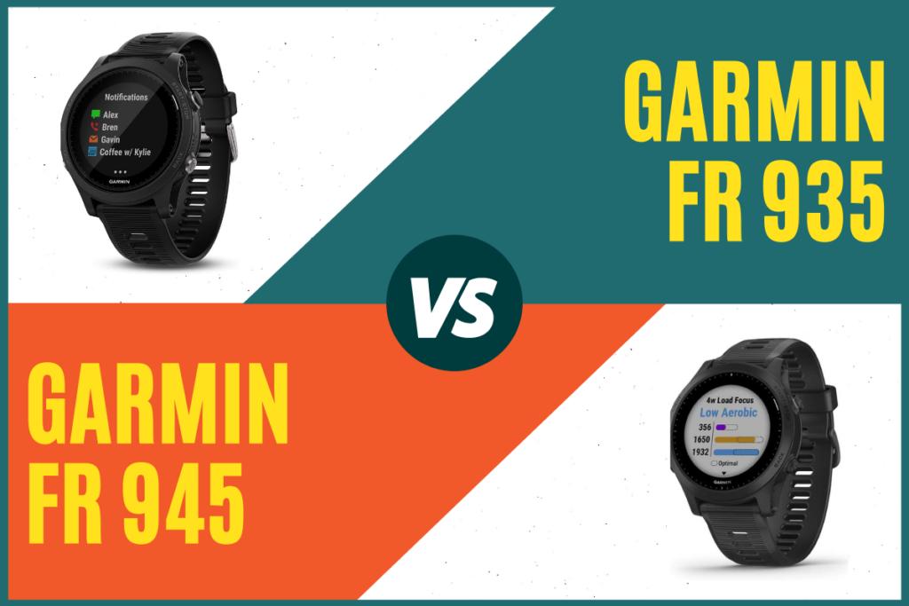 Garmin Forerunner 935 vs 945 Civer
