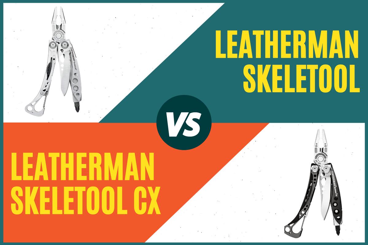 Skeletool vs Skeletool CX Cover