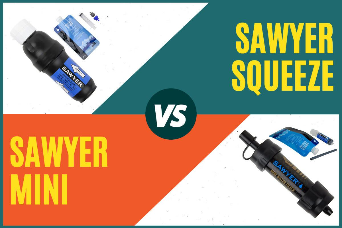 Sawyer Squeeze vs Mini Cover