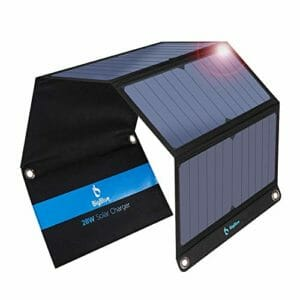 Picture of the BIGBLUE 28W PORTABLE SOLAR CHARGER