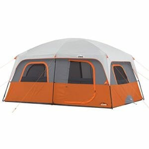 Picture of the CORE 10 PERSON STRAIGHT WALL CABIN TENT