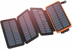 Picture of the Hiluckey 25,000mAh Solar Charger